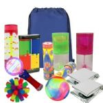 23 Piece Awesome Visuals Sensory Kit Bag